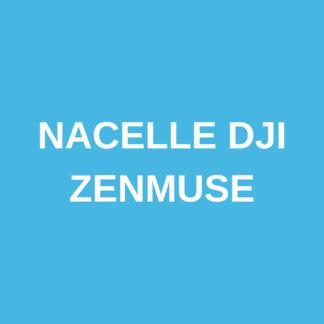 Nacelle DJI ZenMuse